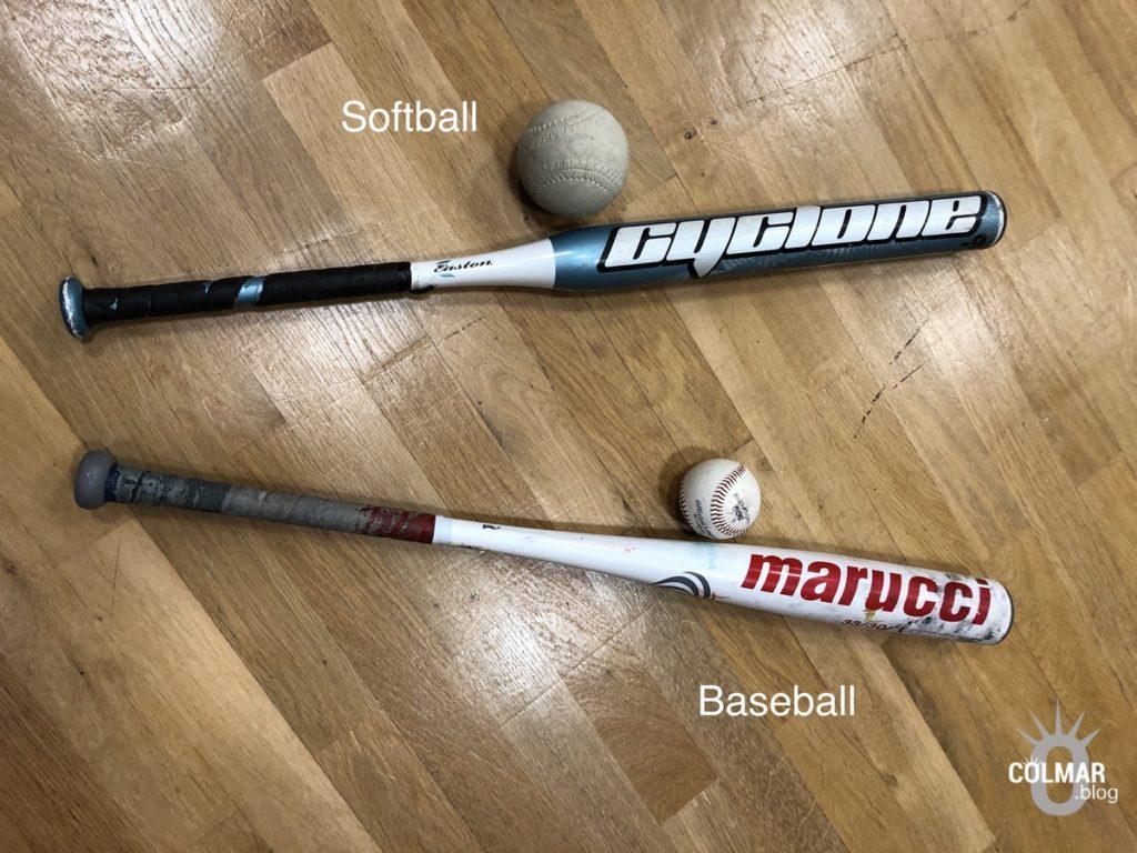 Différence entre softball et baseball