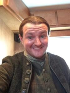 Scott Kyle : acteur de la série Outlander